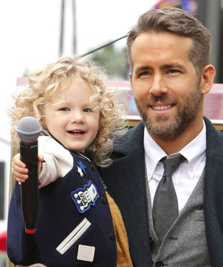 "Ryan Reynolds Says Daughter James Is Like a ""Dime-Store Thug"" When He Brings Her to Set"