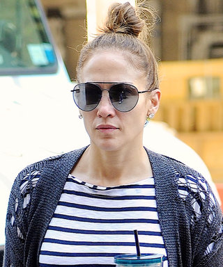 Like You, J.Lo Loves Cardigans and Starbucks