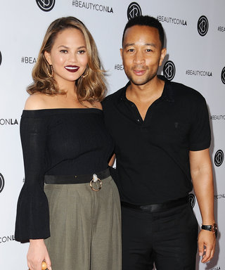 Chrissy Teigen and John Legend Hit the Red Carpet in Complementary Looks
