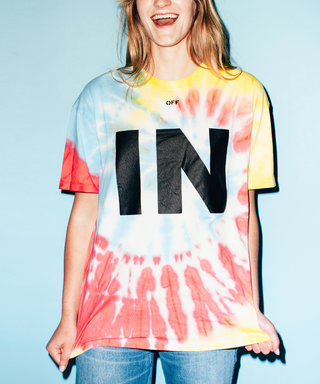 Off-White's Virgil Abloh Takes on Festival Fashion with a Tie-Dye T-Shirt