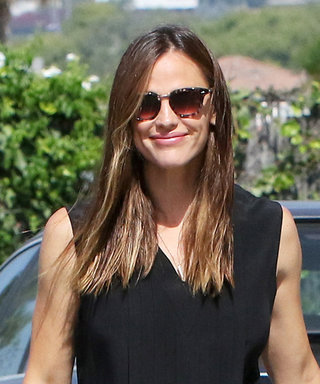 Jennifer Garner Attends Church in Chic Neutrals