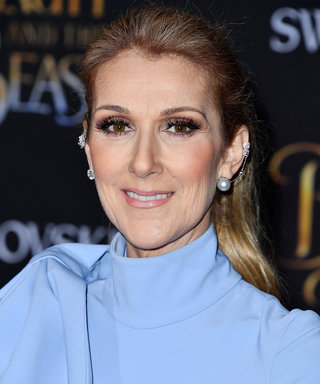 Watch Ultimate Hockey Mom Celine Dion Dance Rinkside at Her Son's Game