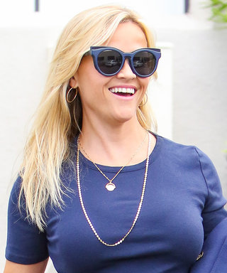 Reese Witherspoon Serves Up Major Back-to-School Inspo' in Preppy Look