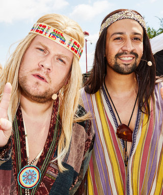 Lin-Manuel Miranda & James Corden Go Nude for a Musical