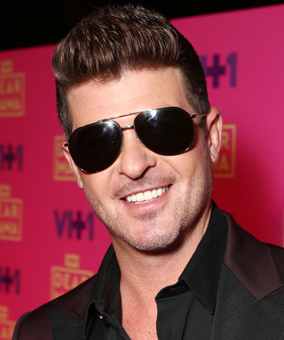 Baby on the Way for Robin Thicke and April Love Geary— See Her Bump!