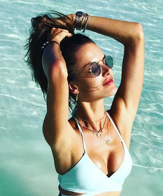Inside Alessandra Ambrosio's Swimsuit Tour of Bora Bora