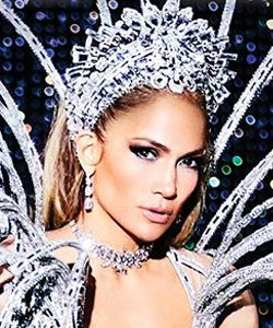 Jennifer Lopez Strips Down to Glittering Lingerie for Paper Magazine