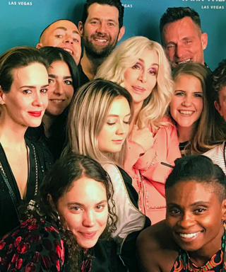 The Cast of American Horror Story: Cult Had the Best Time at a Cher Concert in Las Vegas