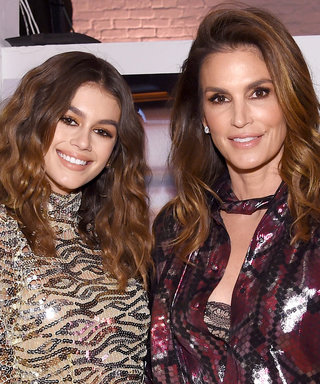 Cindy Crawford Posts Selfie with Daughter Kaia Gerber in Milan