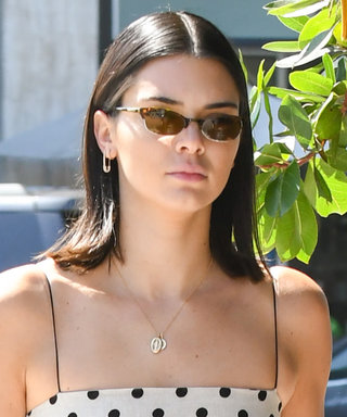 Kendall's Polka-Dot Mini Might Be Her Shortest Dress Yet