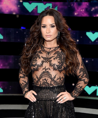 Demi Lovato to World: Yes, You Can Wear a Sheer Shirt with No Bra