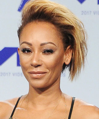 "Mel B Makes Statement with ""You Will Never Own Me"" Dress"