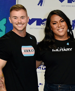 Transgender Service Members Hit the MTV VMAs Red Carpet to Send a Message