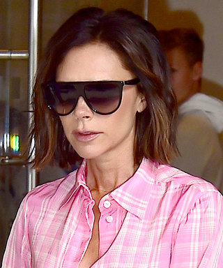 Victoria Beckham Wears Pink Pajamas While Out in NYC
