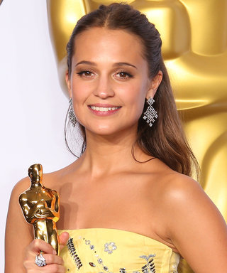 Alicia Vikander Hasn't Seen Her Oscar Since the Night She Won