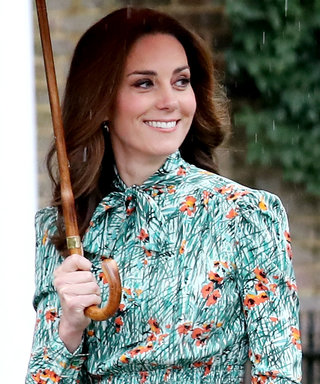 Kate's Floral Dress Has a Subtle Tribute to Princess Di