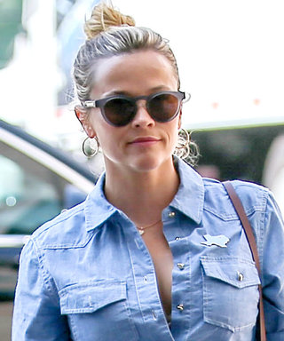 Reese Witherspoon Wore Her Love of Texas on Her Shirt