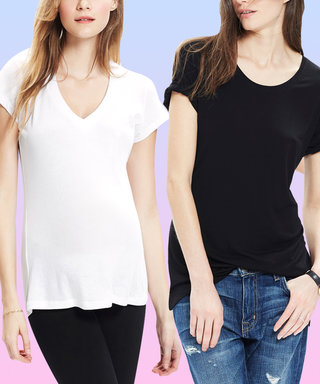 I'm Not Pregnant But My Favorite White Tee is from a Maternity Shop
