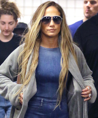 Jennifer Lopez's Double-Denim Look Is Straight Fire