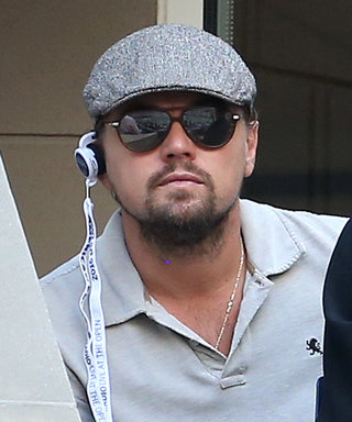Leo Totally Failed at Going Incognito at the U.S. Open