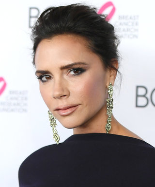 Wait, THIS Is What Victoria Beckham Wears to Do Makeup?