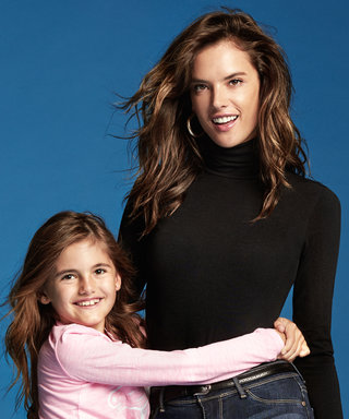 Alessandra Ambrosio's Daughter Lands an Ad Campaign