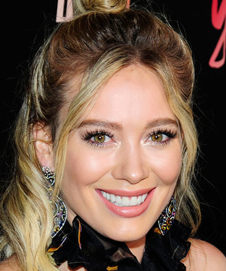 Hilary Duff Soaks Up the Sun in a Tiny Black Bikini