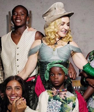 Madonna's 4-Year-Old Twins Don't Know She's Famous