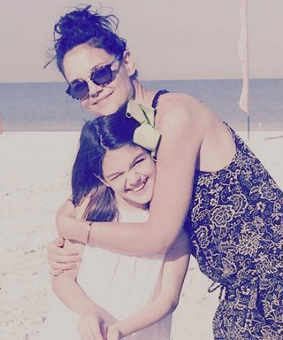 Katie Holmes and Suri Cruise Have the Cutest Lunch Date