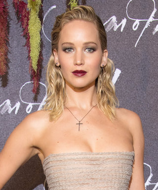 Jennifer Lawrence Wore Yet Another Sultry Silver Gown at a Mother! Premiere