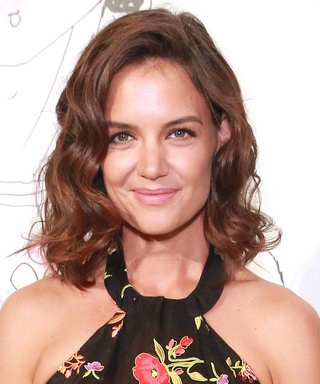 Katie Holmes Hits NYFW in a Sheer LBD We'd Like to Borrow