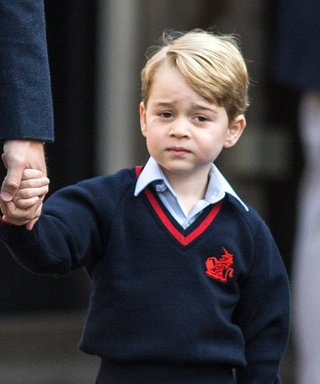 Prince George Heads to His First Day of School Sans Mom Kate Middleton