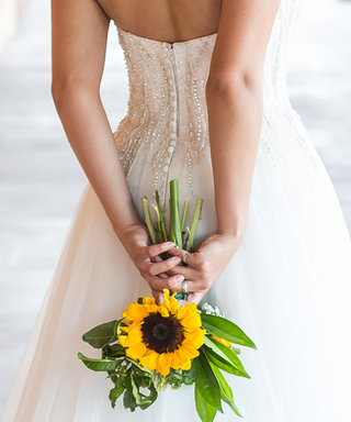 9 Photos That Prove Sunflowers Are Awesome Wedding Flowers