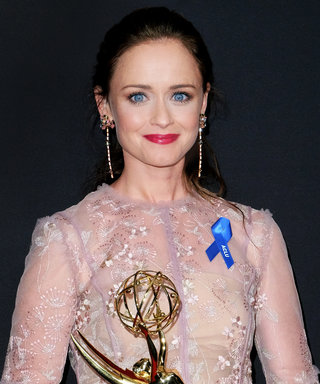 Alexis Bledel Takes Home an Emmy for The Handmaid's Tale