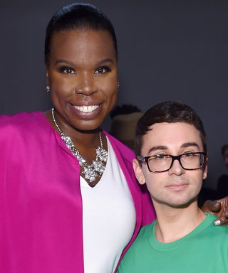 Leslie Jones Couldn't Contain Her Hype at Christian Siriano's Show