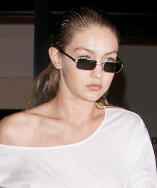 Gigi Hadid's Platform Sneakers Look Impossible to Walk in