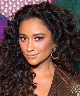 Daily Beauty Buzz: Shay Mitchell's Rose Gold Eyeshadow