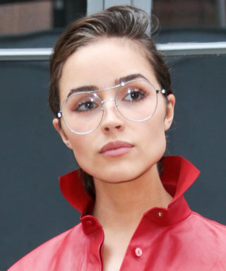 Olivia Culpo Is Here, Making Dad Glasses Cool