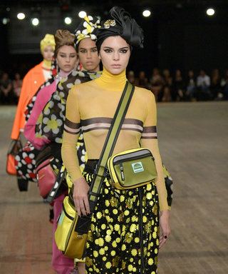 Kendall Jenner Wears Sheer Turtleneck at Marc Jacobs Show