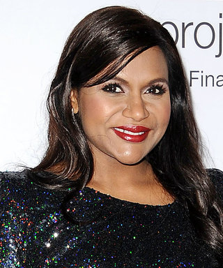 Mindy Kaling's Sparkly LBD Is Her Most Glam Look Yet