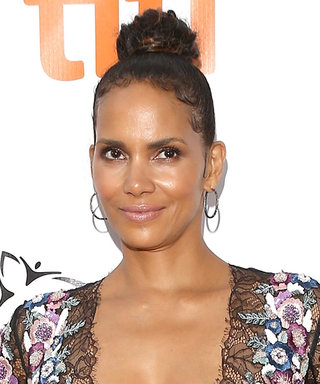 Halle Berry Shows Off Her Reality-Defying Figure in a Plunging Jumpsuit