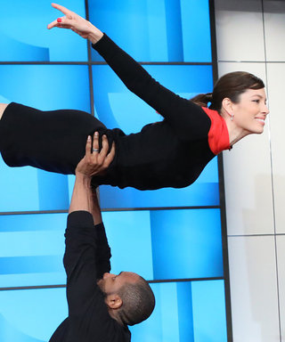 Jessica Biel Just Did the Dirty Dancing Lift