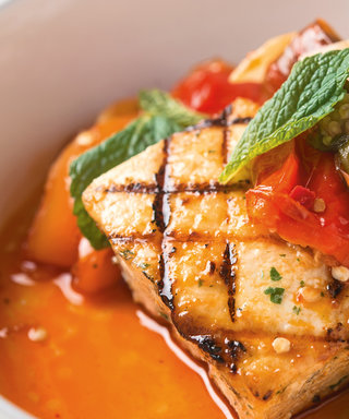 This Swordfish Dish is 1. Easy 2. From an Obama Fave