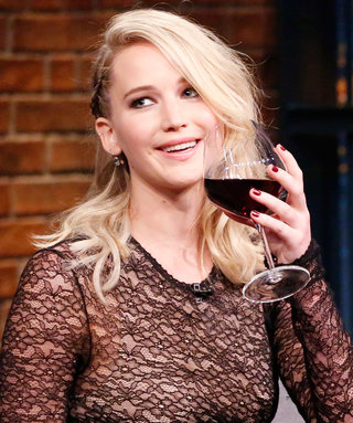 Jennifer Lawrence Poured Beer All Over a Fan in a Bar