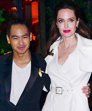 Angelina Jolie's Sons Look So Grown Up While Out with Mom