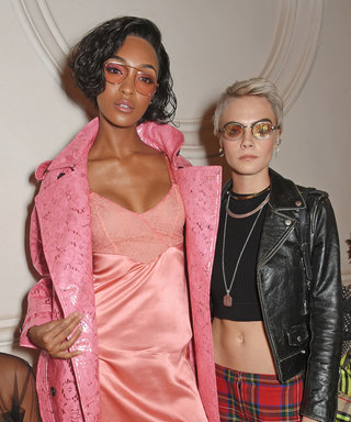 All the Celebrities Front Row at London Fashion Week