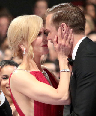 Alexander Skarsgård Wins an Emmy—and Nicole Kidman Can't Hide Her Excitement
