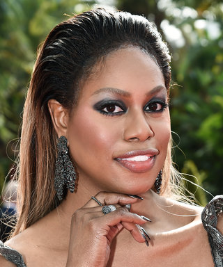 Laverne Cox Teased Her Beautiful New Gig on the Emmys Red Carpet