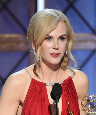Nicole Kidman Tears Up Accepting Her First-Ever Emmy