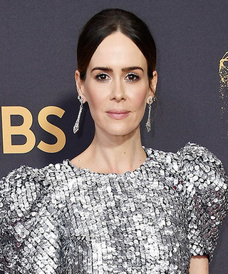 Sarah Paulson Wore the 2017 Version of This Iconic Dress